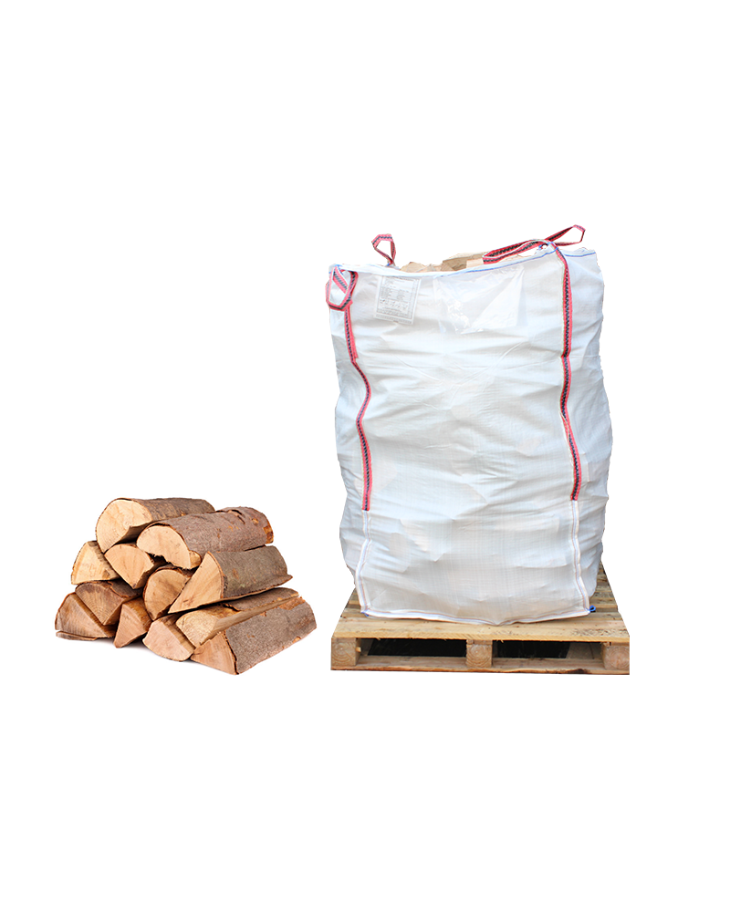 Builders Bag of Processed Split Sawmill Offcuts for Firewood