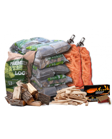 Small Premium Kiln-Dried Firewood Package