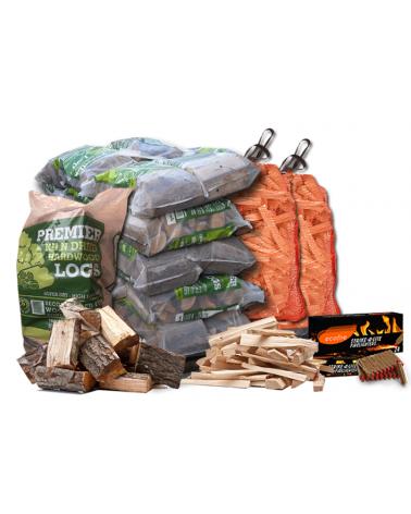 Small Premium Kiln-Dried Firewood Package