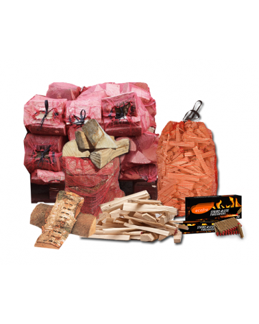 Small Seasoned Hardwood Firewood Package