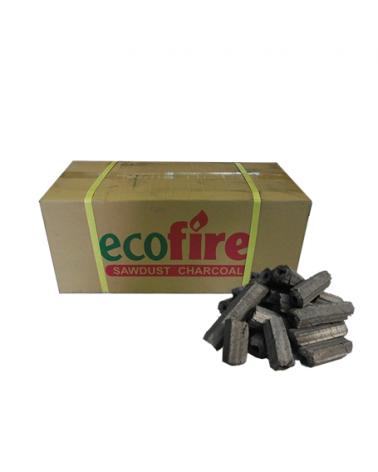 Ecofire Sawdust Charcoal Briquettes